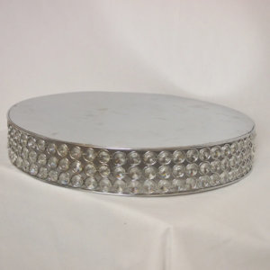 Crystal Jewelled Cake Stand