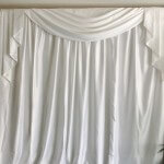 Luxury Sateen Drapes - Event Backdrop