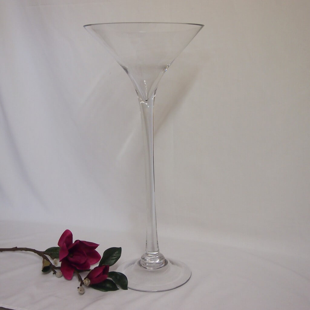 Covers decoration hire martini 60cm covers decoration hire for Decoration vase martini