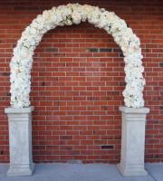Rosa wedding arch hire