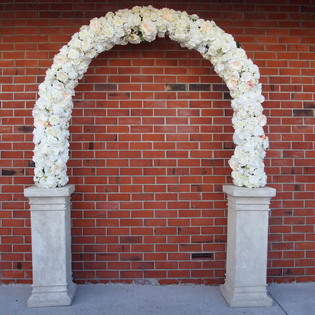 Covers decoration hire rosa wedding arch hire auckland extremely rosa wedding arch hire aisle decoration junglespirit Gallery