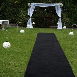 Covers Decoration Hire Carpet Plush Black For Your