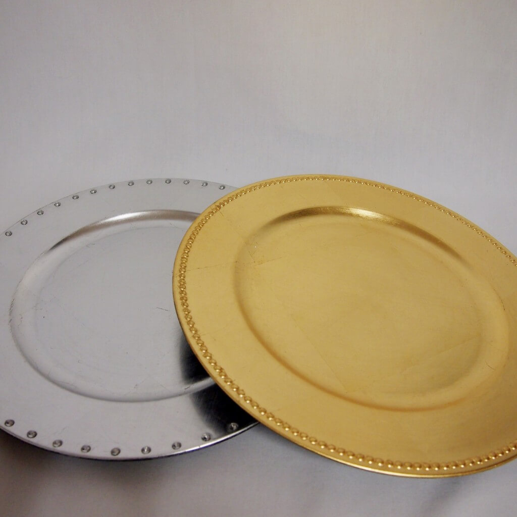 Covers Decoration Hire   Charger Plates to hire for an elegant table ...