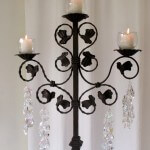 Tall 3 Arm Candelabra