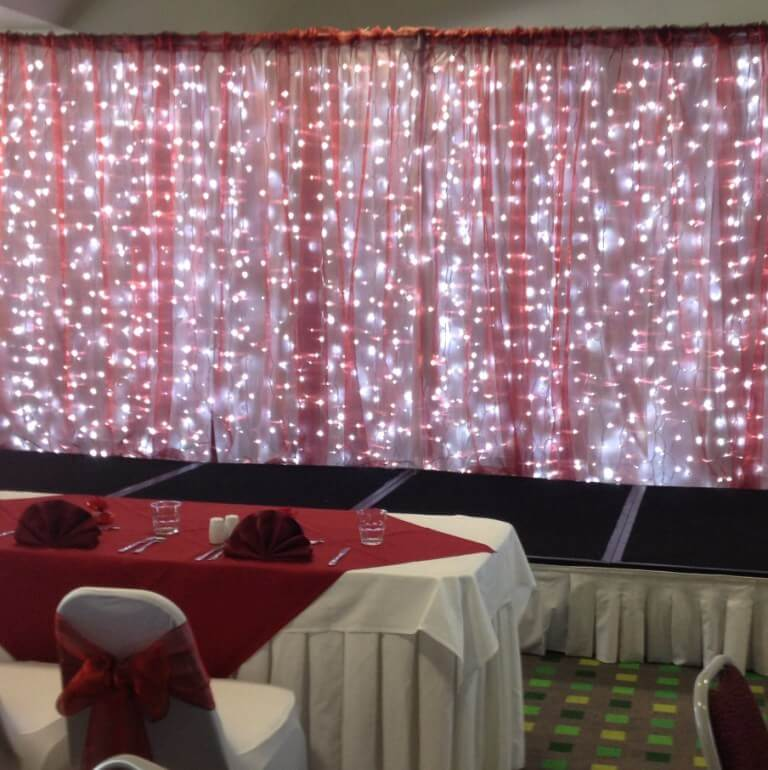 Covers Decoration Hire Organza Overlays Covers