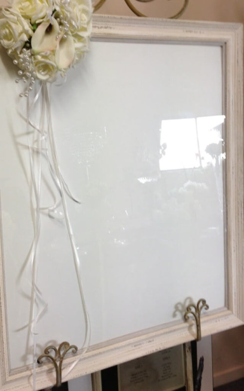 Covers Decoration Hire | Frame Shabby Chic - Covers Decoration Hire