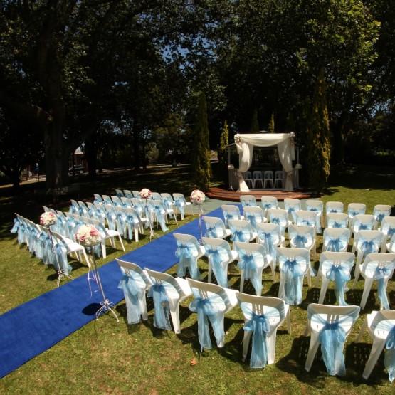Garden Wedding Ceremony -Ellerslie
