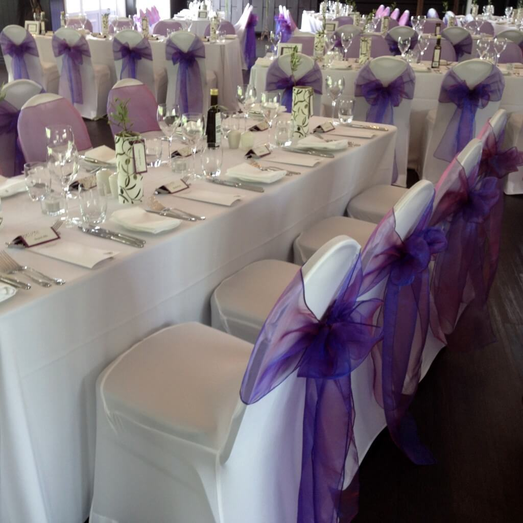 Wedding Reception Decorations Auckland : Covers decoration hire wedding and event