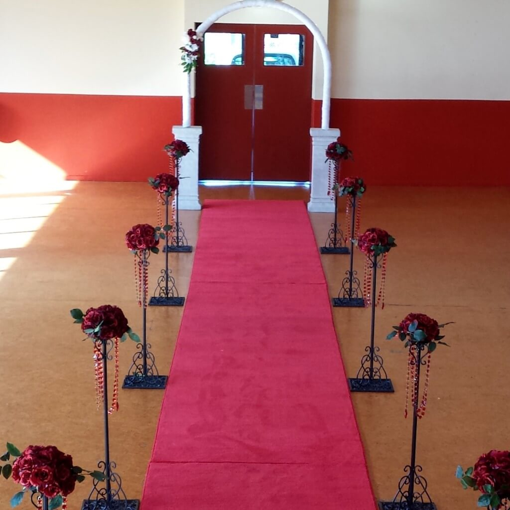 Covers decoration hire red carpet hire auckland wedding aisle red carpet entrance junglespirit Choice Image