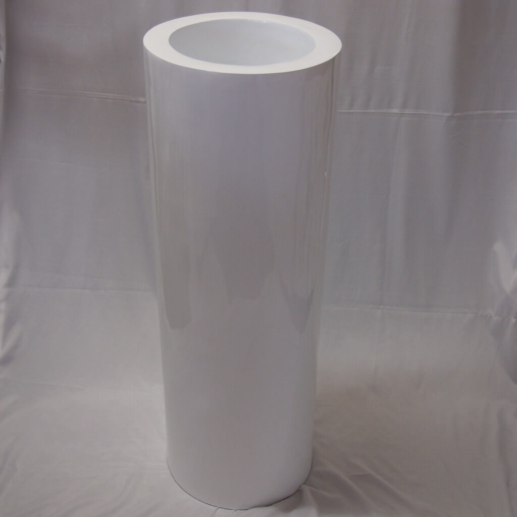 Covers Decoration Hire White Cylinder Planter Pedestal