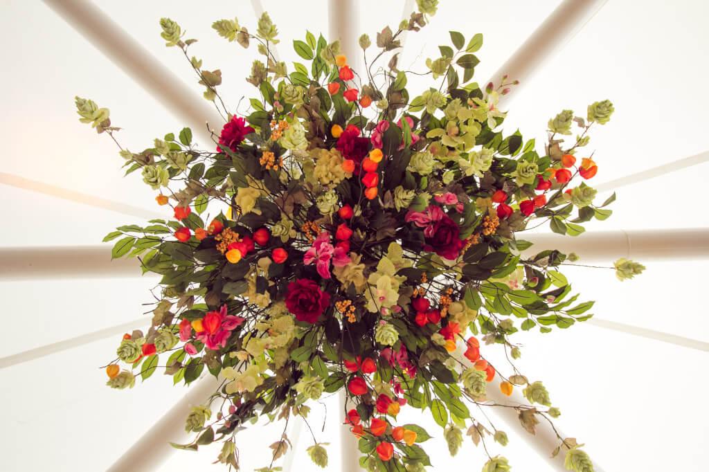 Covers Decoration Hire Circle Flower Arrangement
