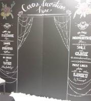 blackboard backdrops