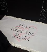 Wedding Carpet Runner Art