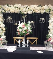 Wedding Floral Picture Frame for hire