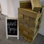 Garden Games giant jenga