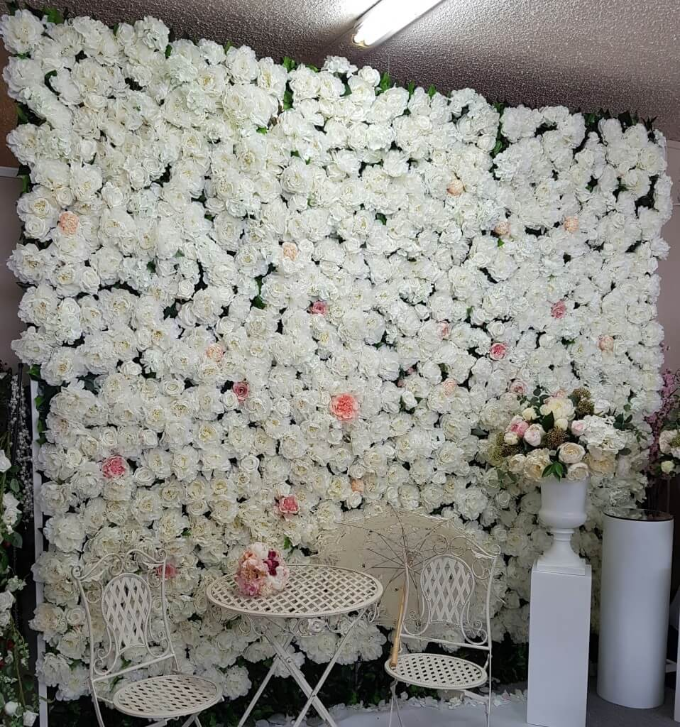 Flower Wall Hire 3m