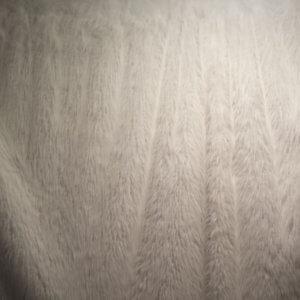 white fur backdrop