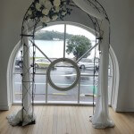 Metal Arch Julie Draped
