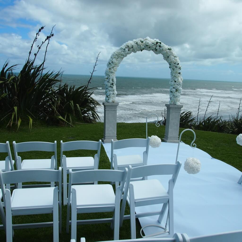 Rosa Arch - White Wedding Package