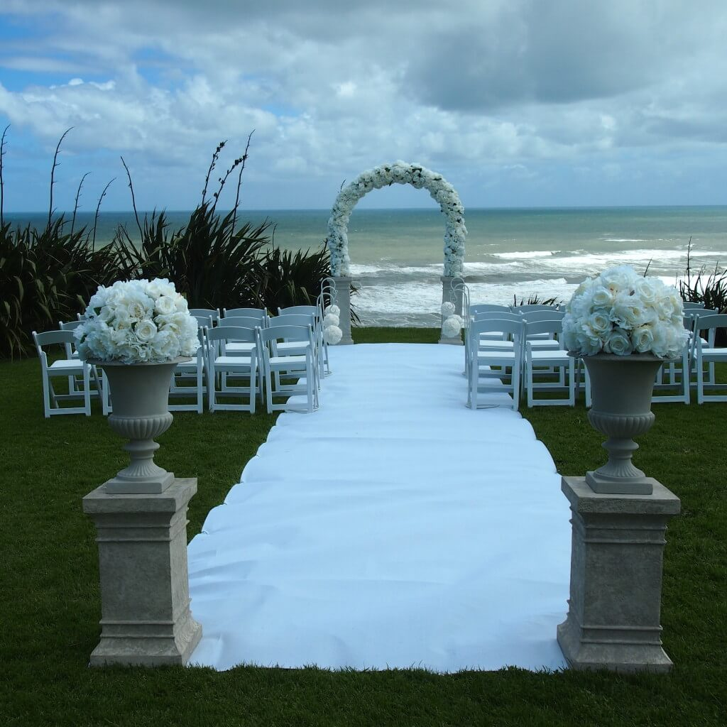 White Wedding Ceremony Package