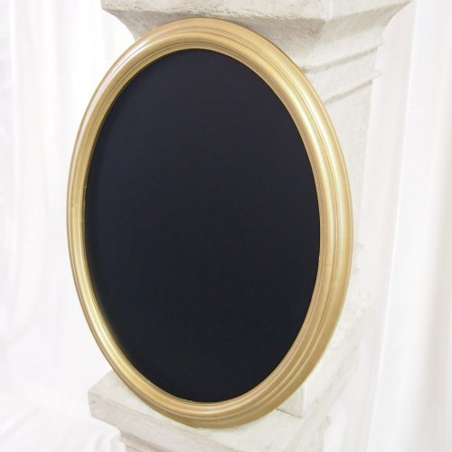 Gold Oval Frame