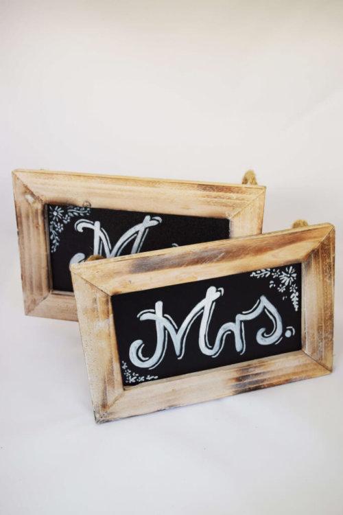 Mr & Mrs Chalkboards