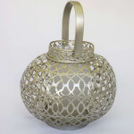 Silver Moroccan Lantern