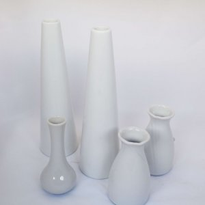 ceramic bud vases