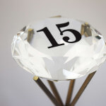 Diamond Table Number