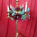 Gold Candleabra