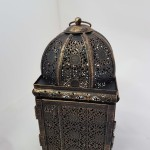 Gold moroccan lantern small