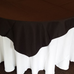 Black Tablecloth 175 square