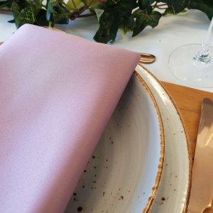 blush pink napkin