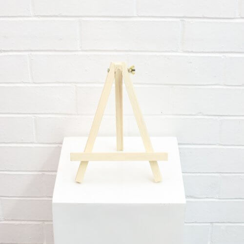 Table Number Wooden Easels
