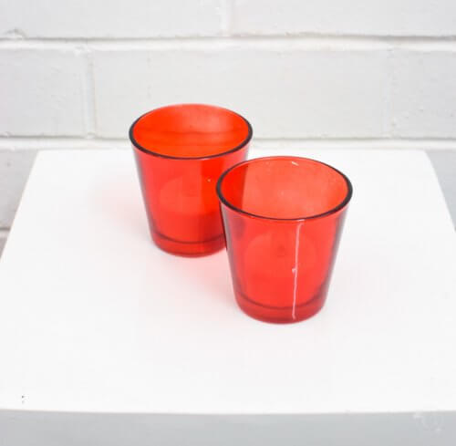 red tealight