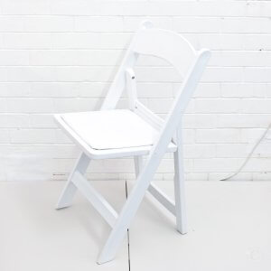 Chair White Folding