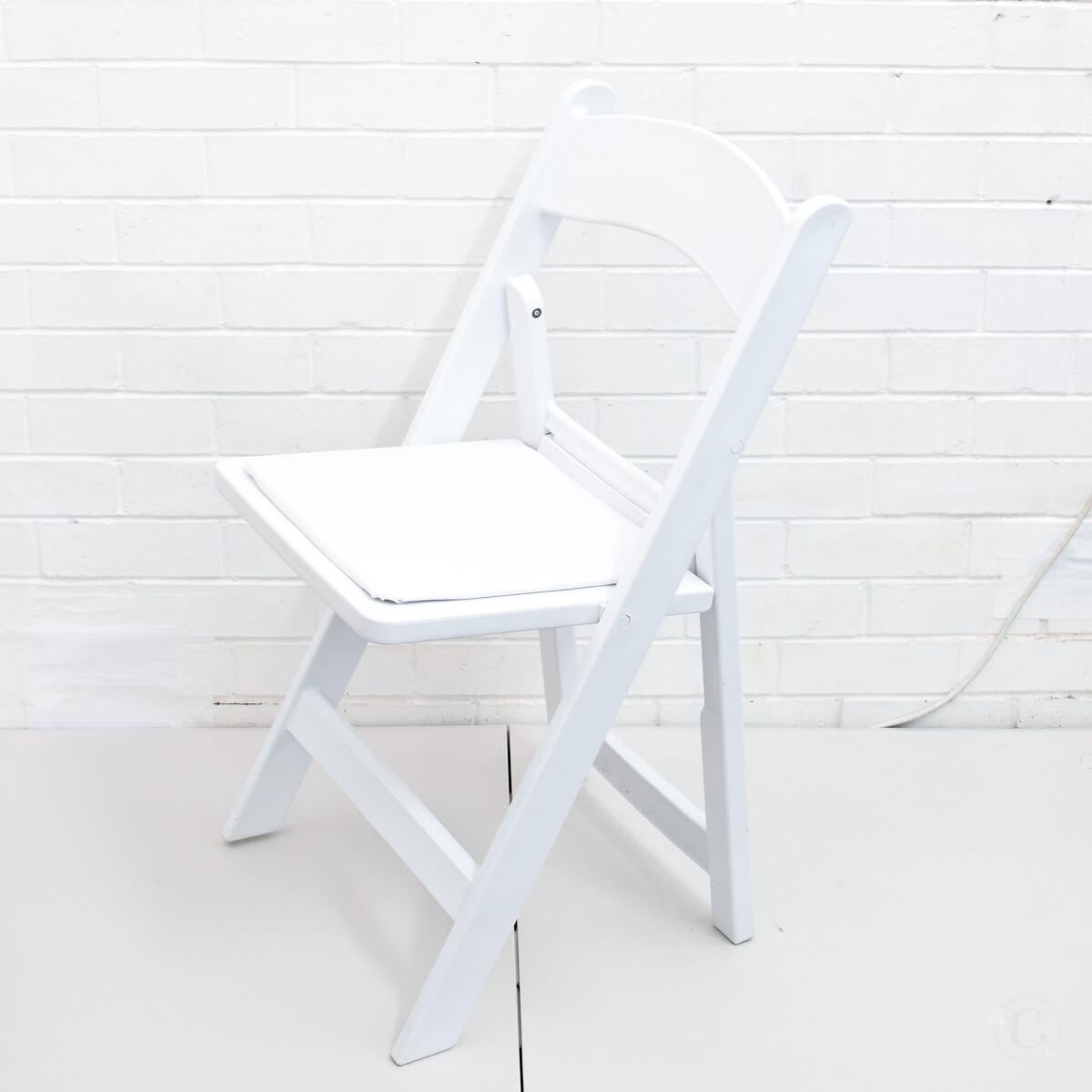 Covers Decoration Hire Chair White Folding For Weddings And Events Auckland