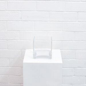 Square Vase 10cm