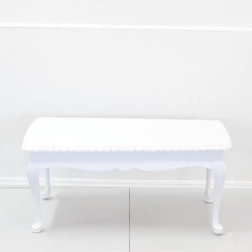 Vintage White Coffee Table
