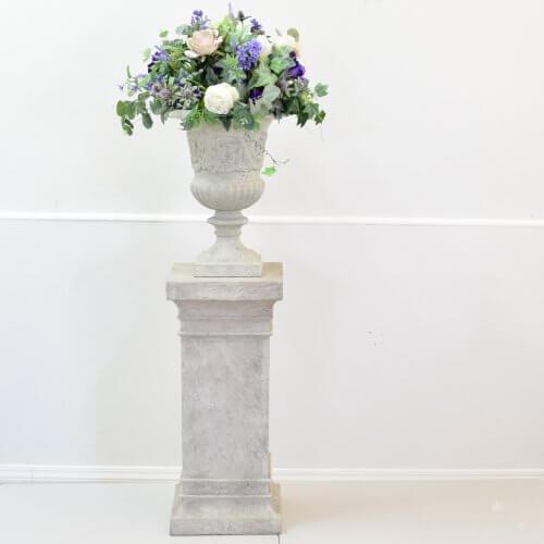 Decorated Urn on Pedestal 1