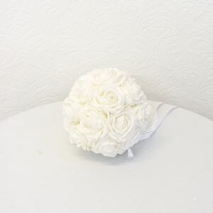 Small White Kissing Ball