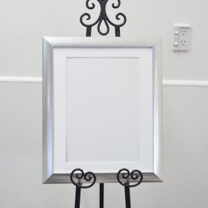 Satin Silver Frame