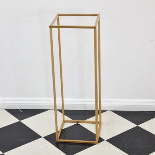 box centrepiece gold