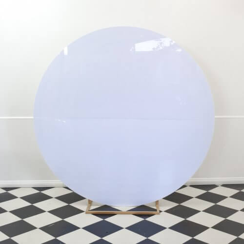 acrylic circle backdrop