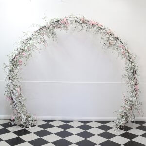 cherry blossom circle arch