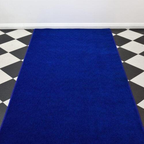 Plush Blue Carpet