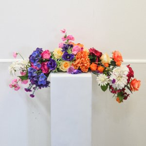 colourful floral arrangement