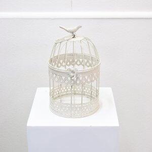 round small birdcage