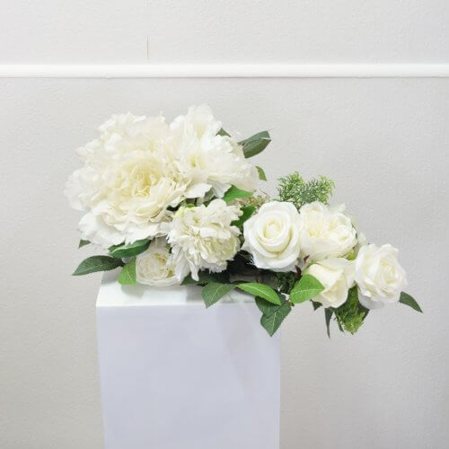 Wedding Arch White Flowers