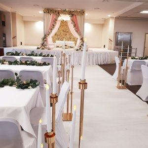 Temple Wedding Setting